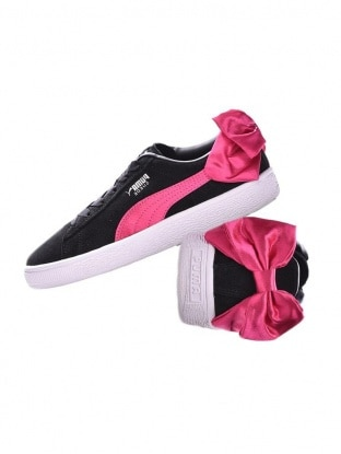 Suede Bow Ps